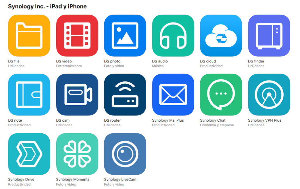 apps synology